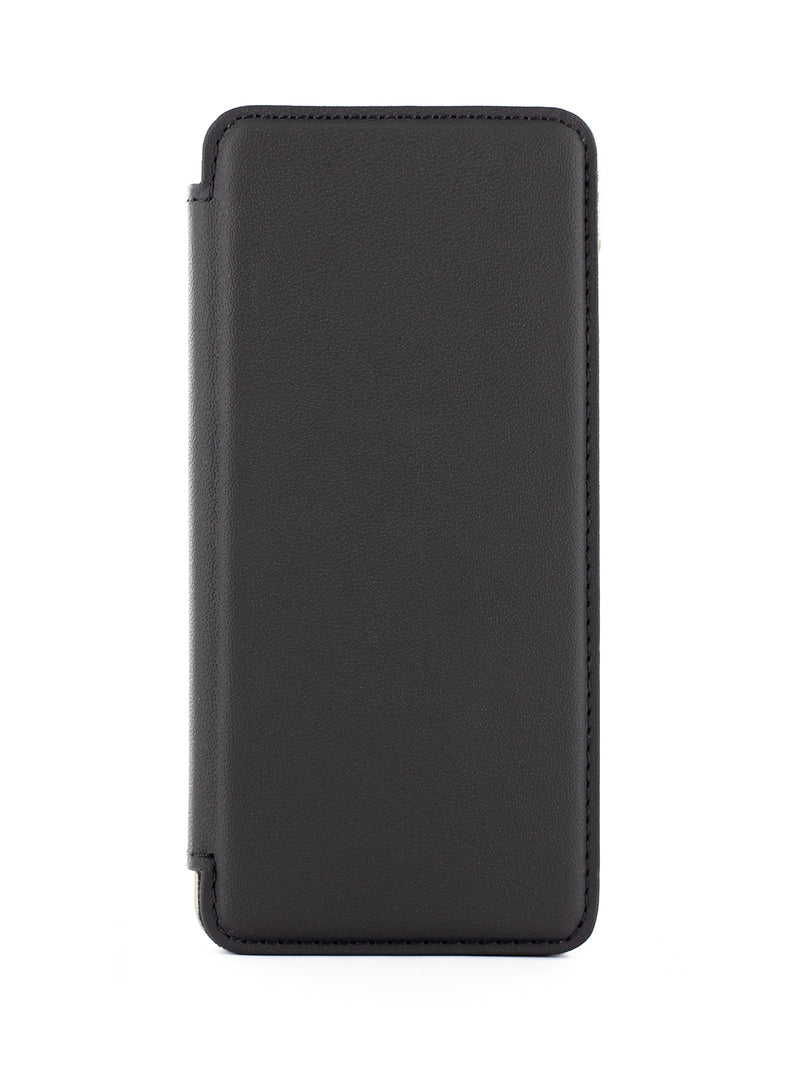BLAKE Luxury Leather Case for Samsung Galaxy S10 - BELUGA (BLACK)/GUNMETAL