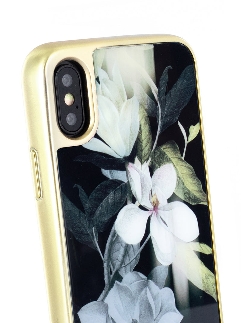 Ted Baker Tempered Glass Case for iPhone X / XS - Opal