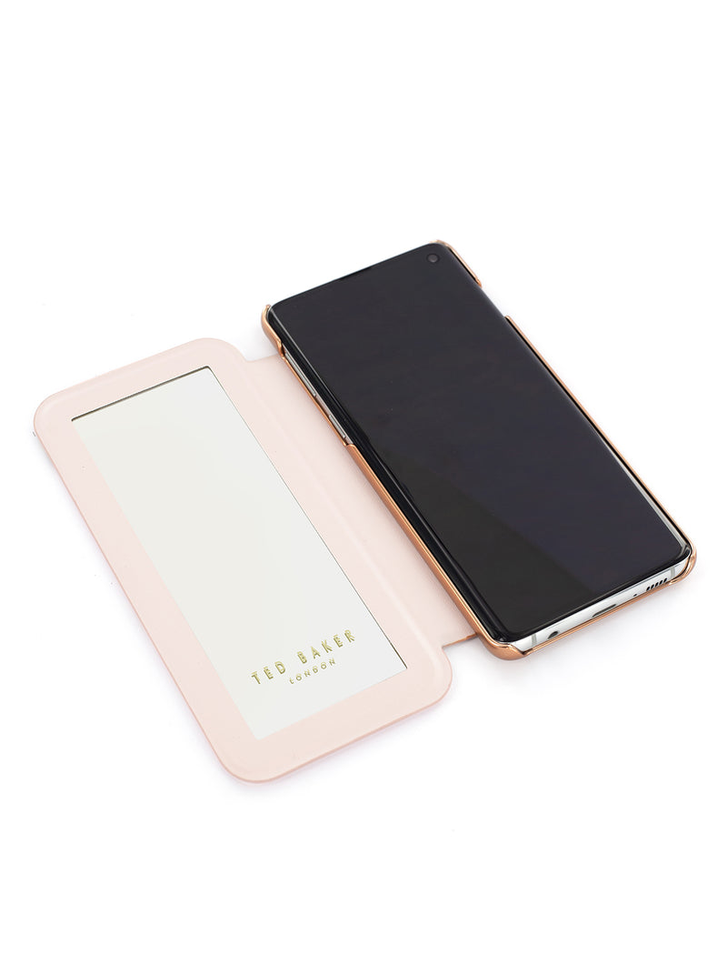 TED BAKER Mirror Folio Case for Samsung Galaxy S10 Plus - Glitsee