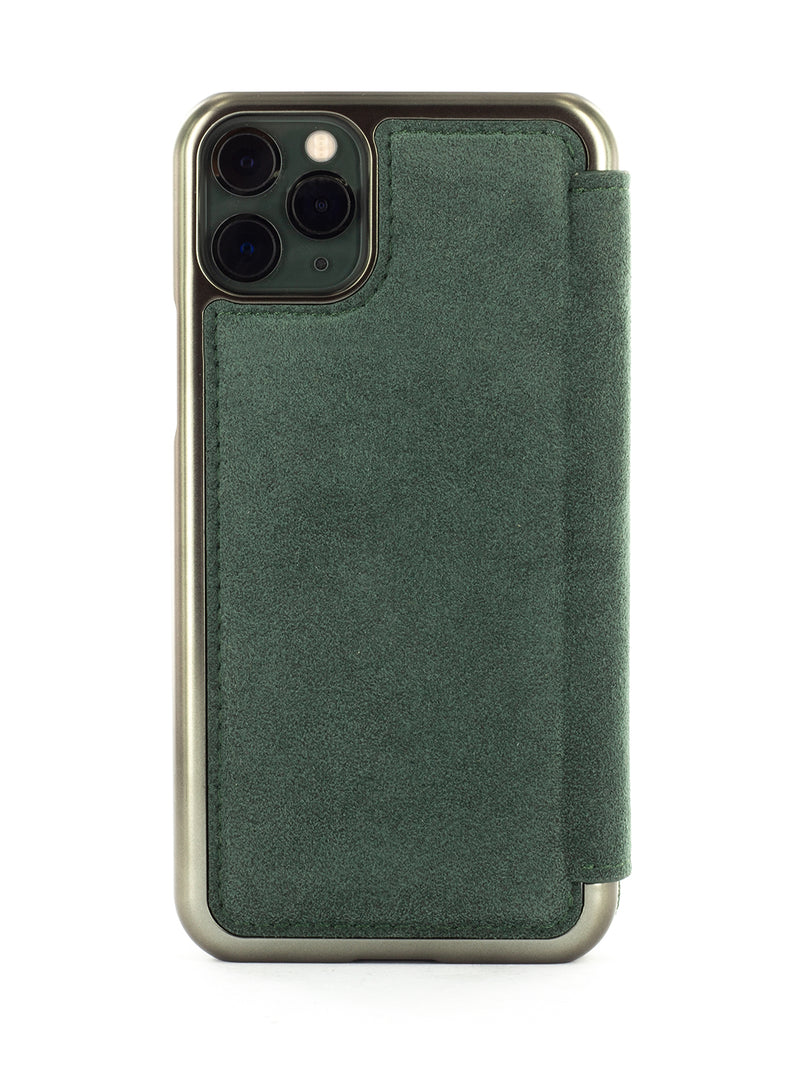 BLAKE Luxury Alcantara Case for iPhone 11 Pro Max - Sage