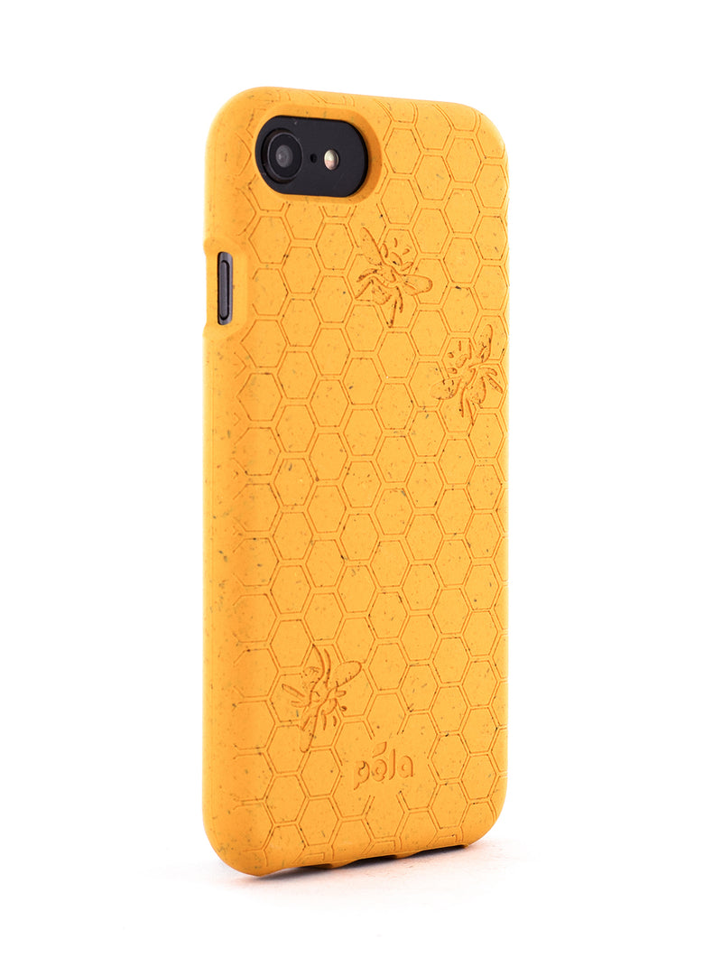 Limited Edition Pela Eco Friendly Case For iPhone SE (2020) / 8 / 7 / 6 - Honey Bee