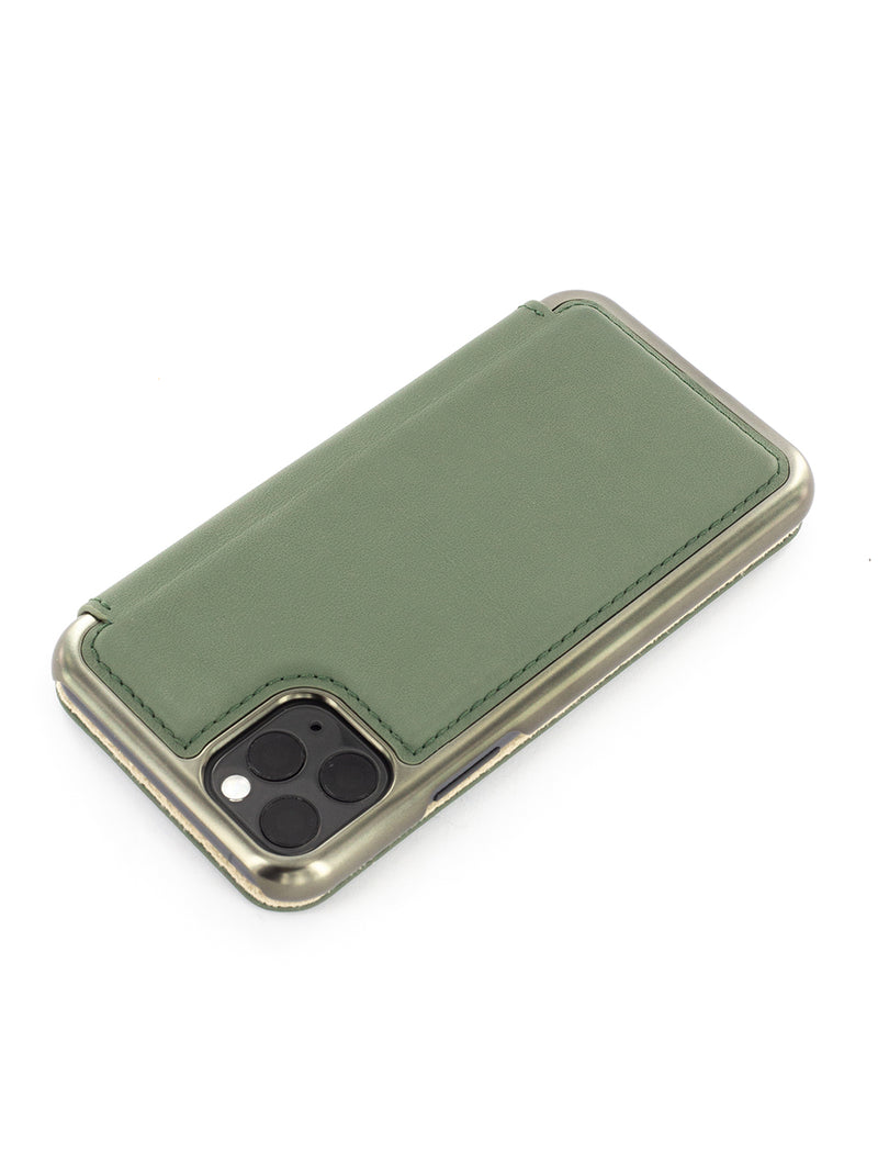 BLAKE Luxury Leather Case for iPhone 11 Pro Max - SAGE