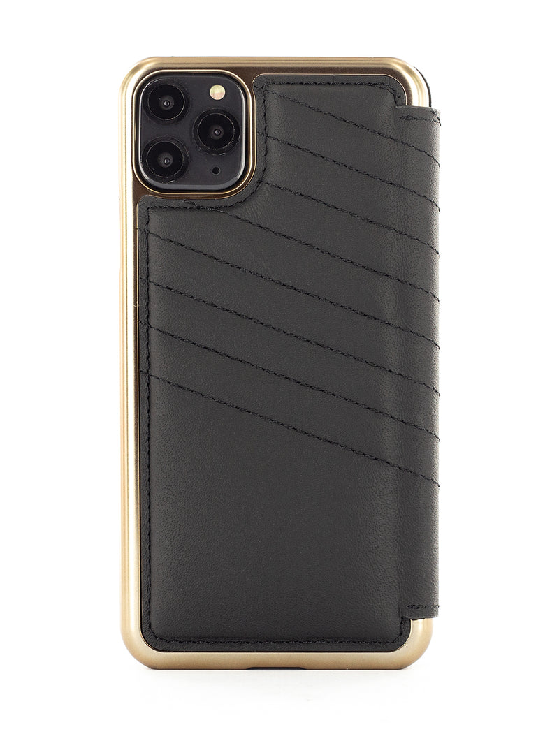 Greenwich Luxury Leather Case For iPhone 11 Pro Max - PORTLAND / BELUGA