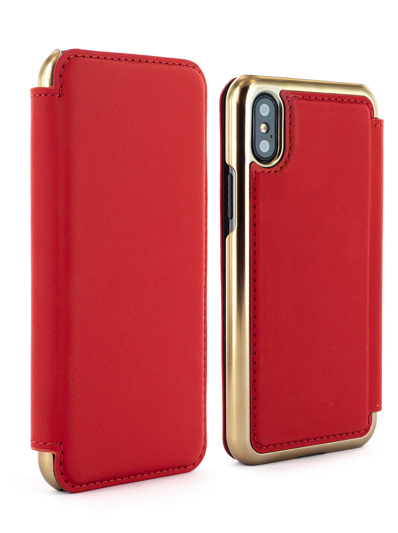 Luxury Leather Case for iPhone X / XS