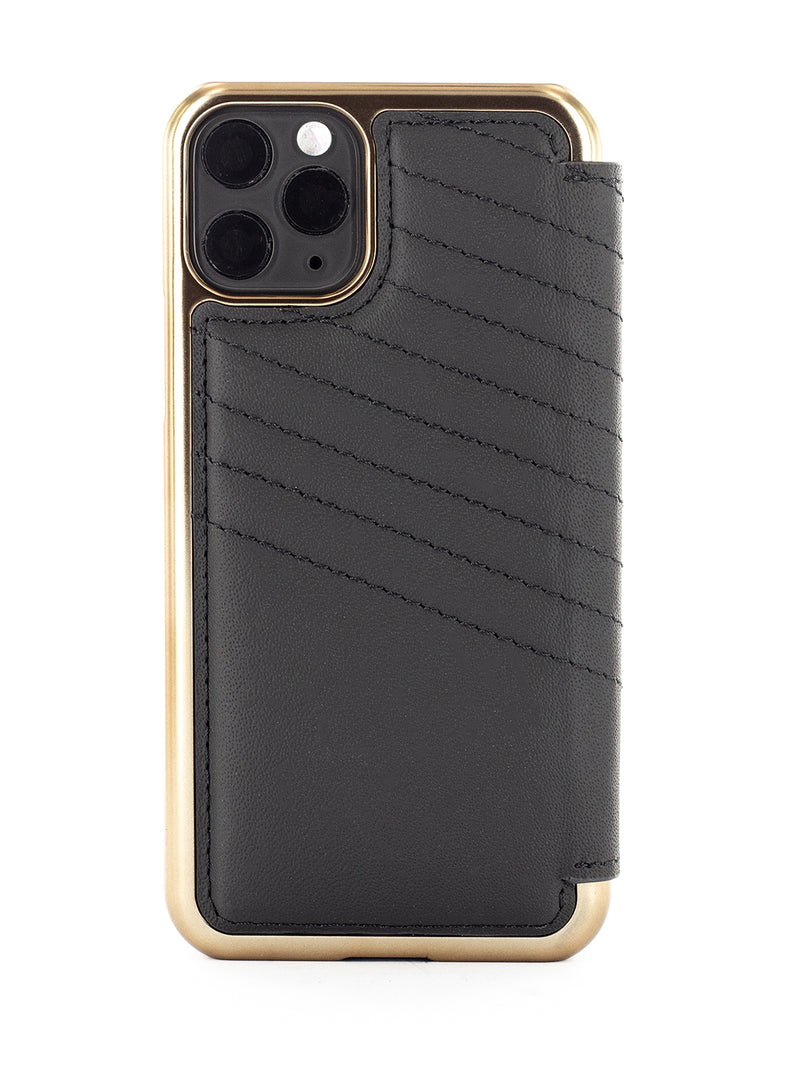 Greenwich Luxury Leather Case For iPhone 11 Pro - PORTLAND / BELUGA