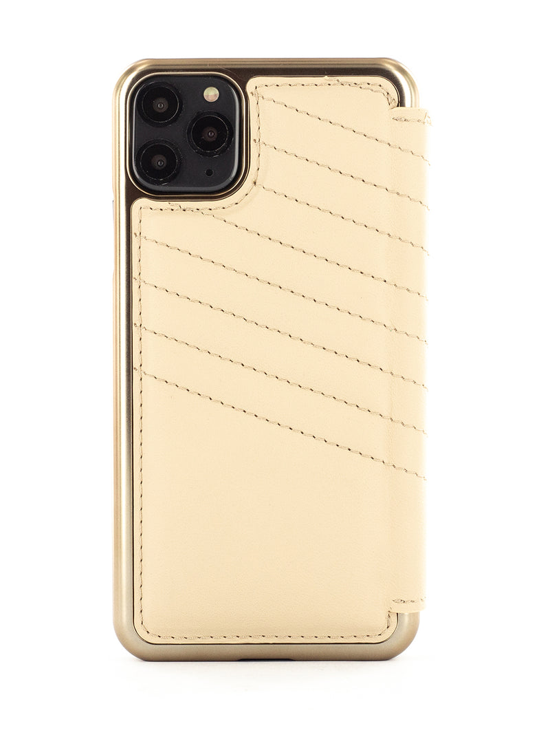 Greenwich Leather Case For iPhone 11 Pro Max - PORTLAND / SHORTBREAD