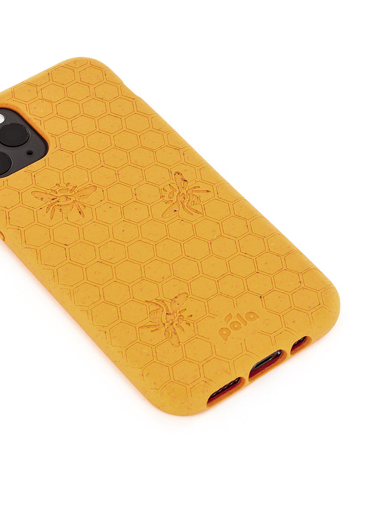 Limited Edition Pela Eco-friendly Case for iPhone 11 Pro - Honey Bee