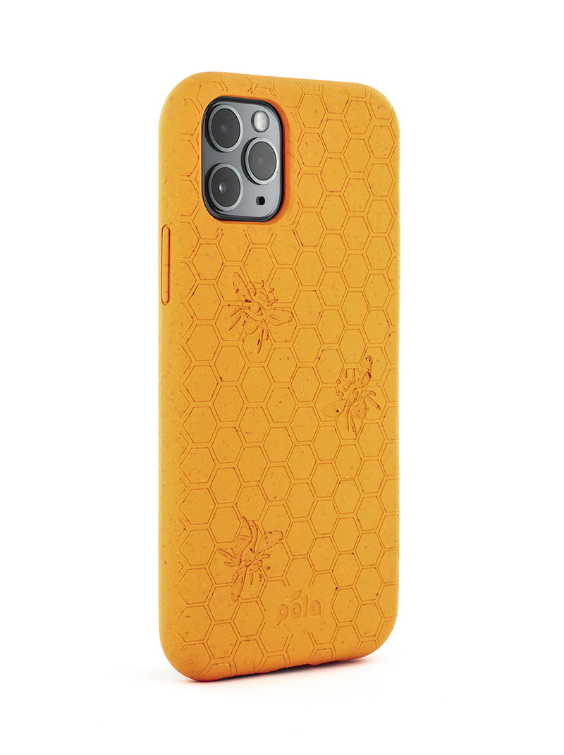 Limited Edition Pela Eco-friendly Case for iPhone 11 Pro Max - Honey Bee