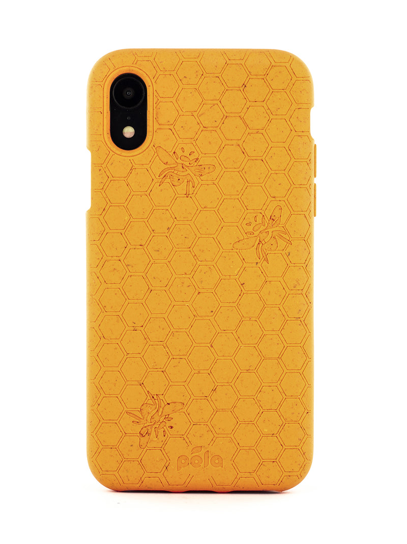 Limited Edition Pela Eco Friendly Case For iPhone XR - Honey Bee