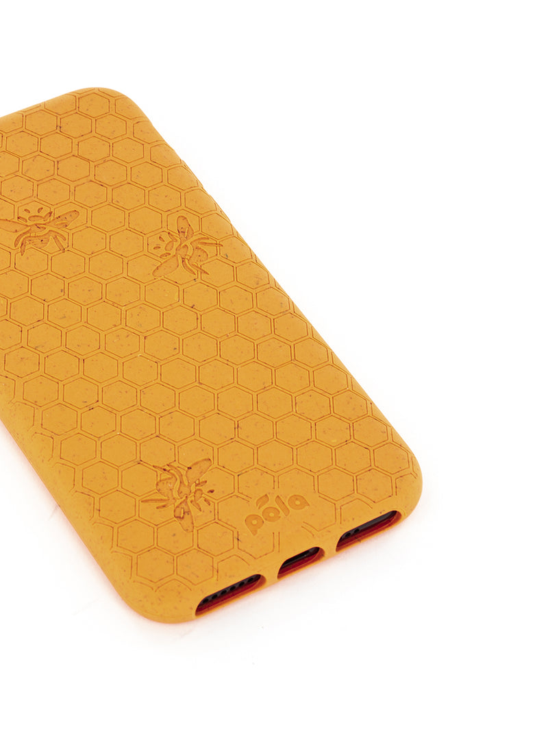 Limited Edition Pela Eco-friendly Case for iPhone X/XS - Honey Bee
