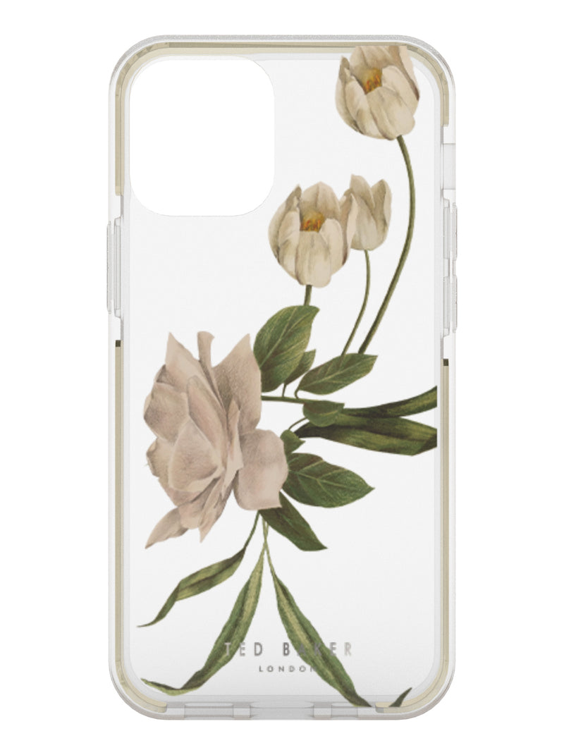 Ted Baker Anti-Shock Case for iPhone 12 Pro - Elderflower