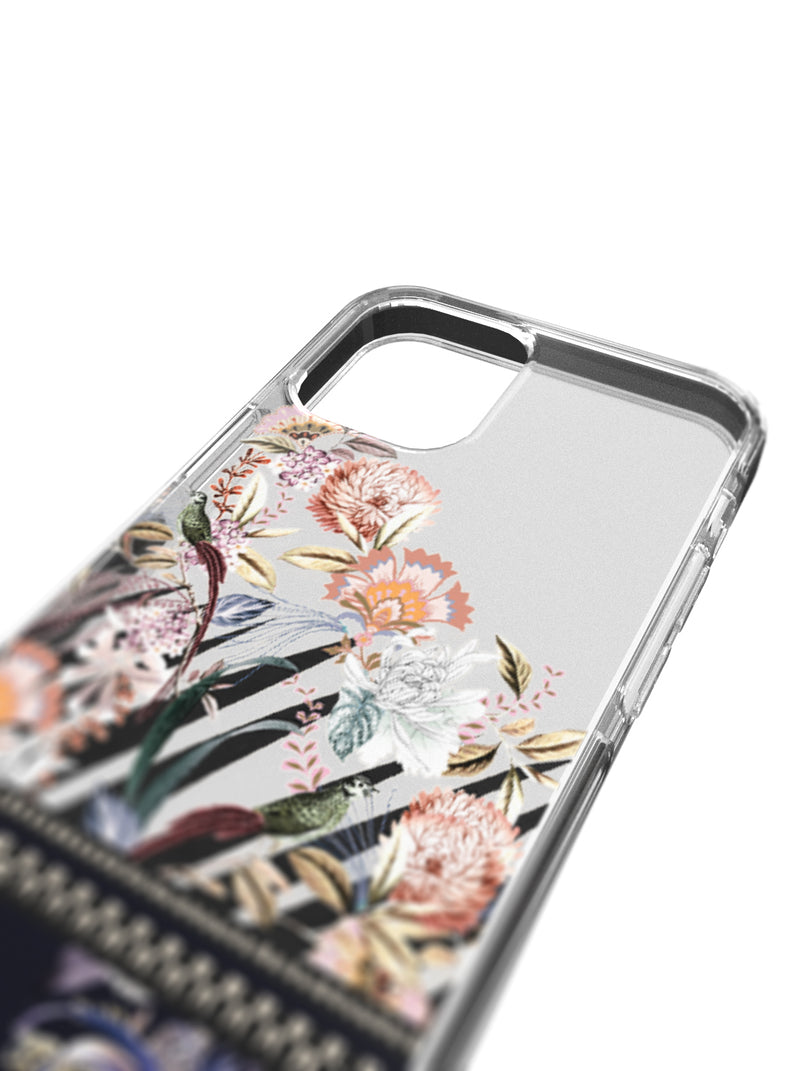 Ted Baker Decadence Anti-Shock Case for iPhone 12 Pro - Clear