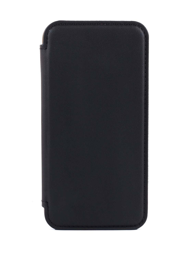 Greenwich BLAKE  Magsafe Leather Case for iPhone 12 mini - Beluga (Black)