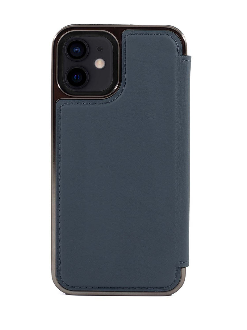 Greenwich BLAKE  Leather Case for iPhone 12 mini - Seal (Grey)