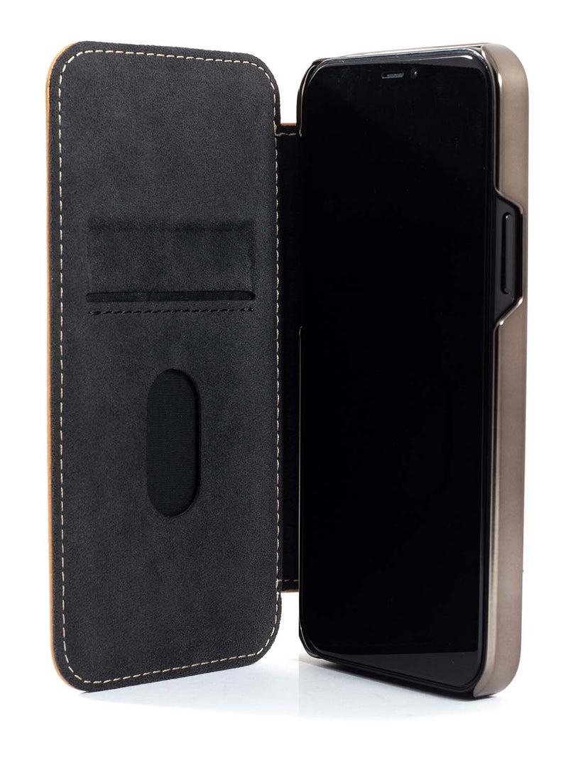 Greenwich BLAKE Leather Case for iPhone 12 - Caramel (Tan)
