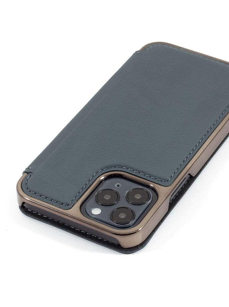 Greenwich BLAKE Leather Case for iPhone 12 Pro Max - Seal (Grey)