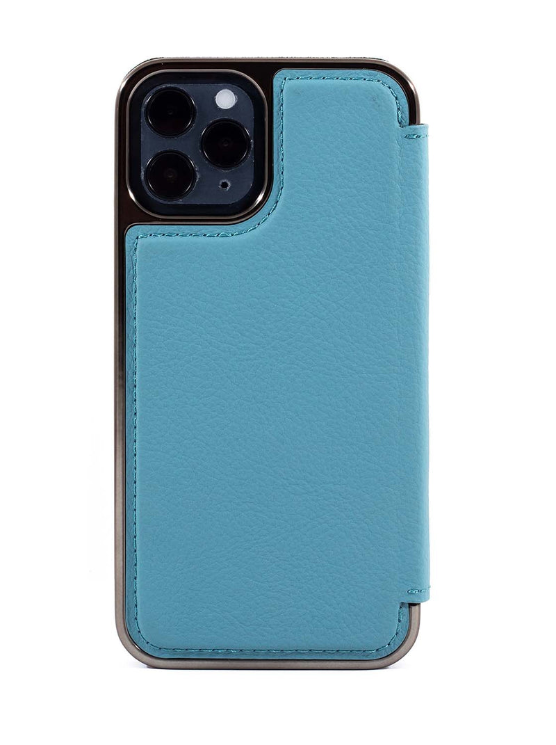 Greenwich BLAKE MagSafe Leather Case for iPhone 12 Pro Max - Tahiti (Blue)