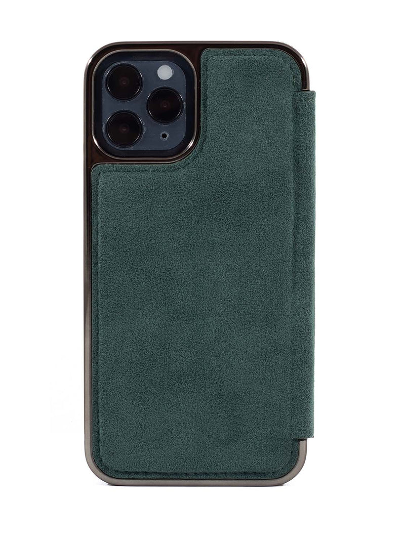 Greenwich BLAKE Alcantara Case for iPhone 12 Pro Max - Sage (Green)