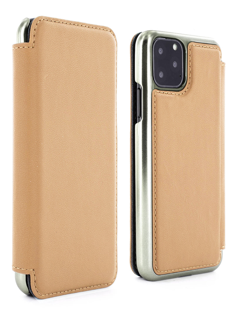 Greenwich BLAKE Leather Case for iPhone 11 Pro Max - Caramel (Tan)