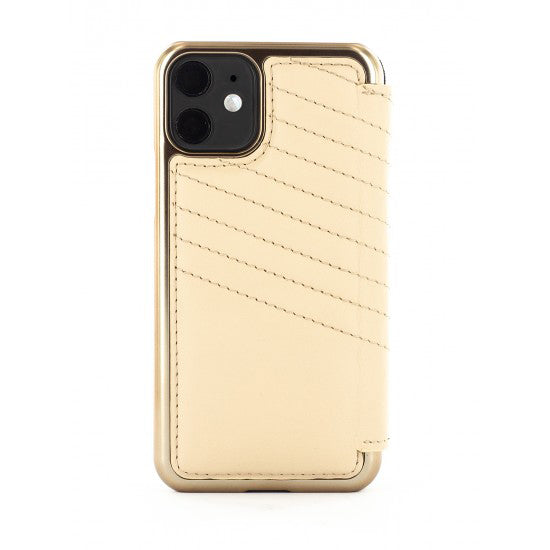 Greenwich Luxury Leather Case For iPhone 11 - PORTLAND / SHORTBREAD