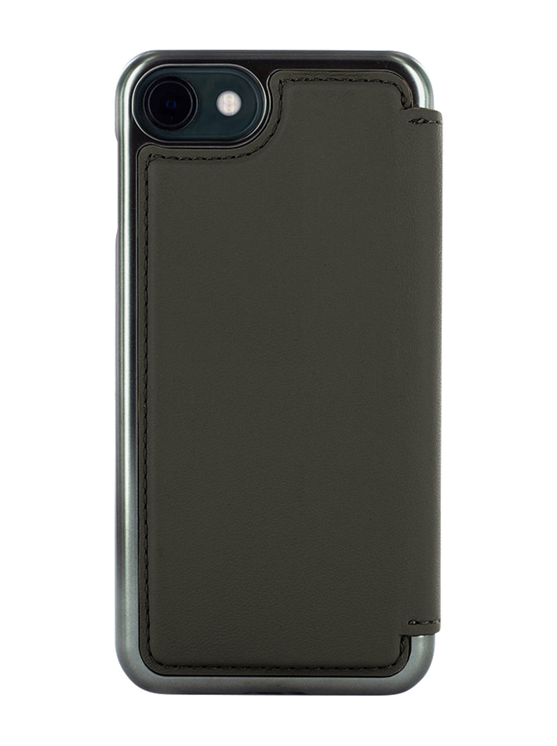 Greenwich BLAKE Leather Case for iPhone  SE 2020 / 8 / 7 - Beluga (Black)
