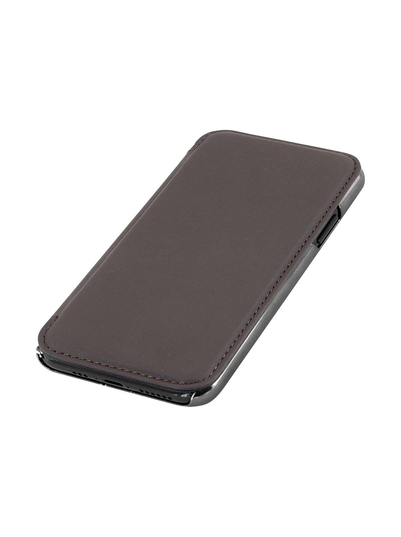Greenwich BLAKE Leather Case for iPhone 11 - Burnt Oak (Brown)