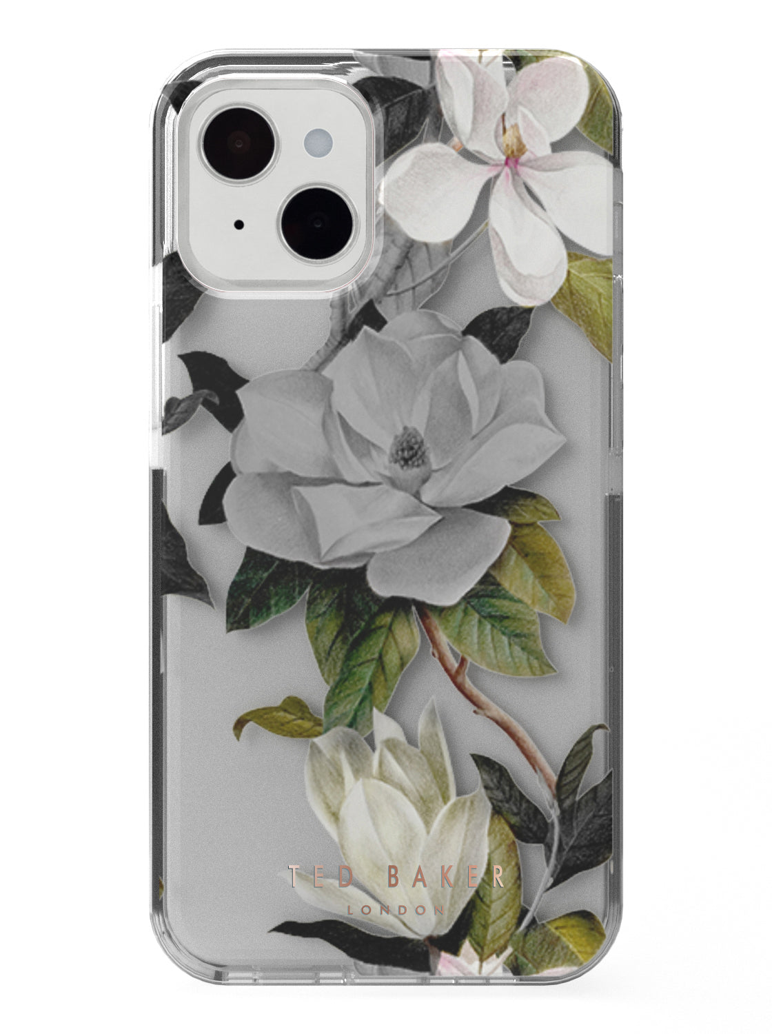 Ted Baker OPAL Anti Shock Case for iPhone 13 - Clear Back
