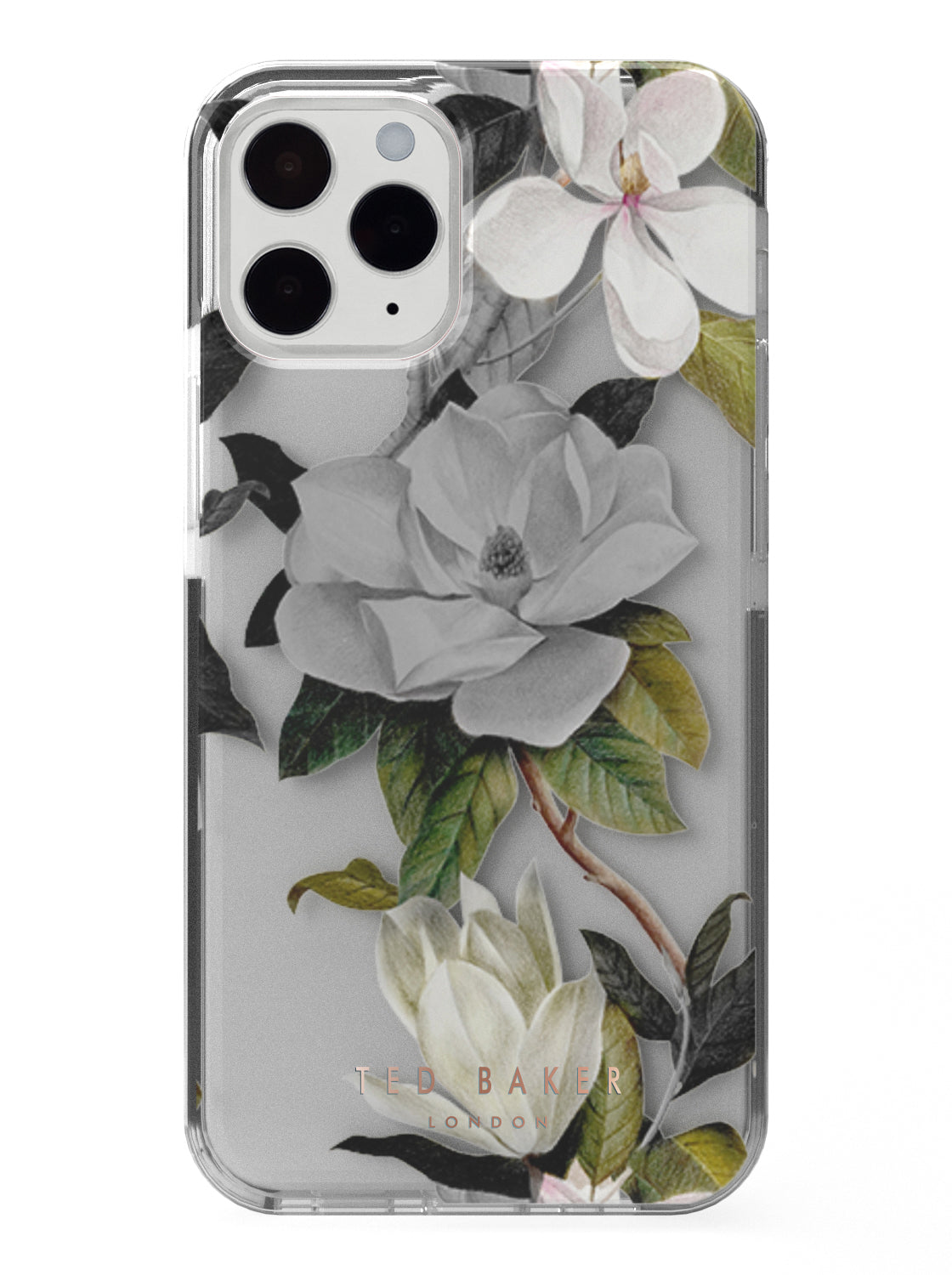 Ted Baker OPAL Anti Shock Case for iPhone 13 Pro - Clear Back