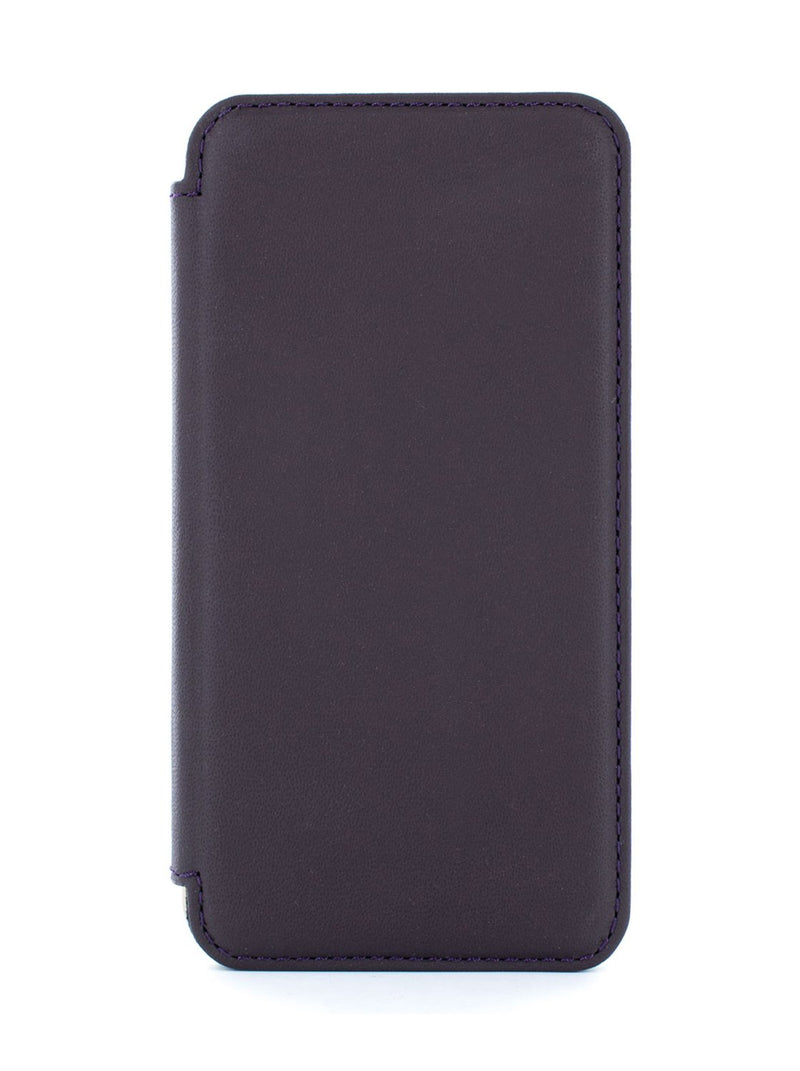 Hero image of the Greenwich Apple iPhone XS / X phone case in Damson Purple