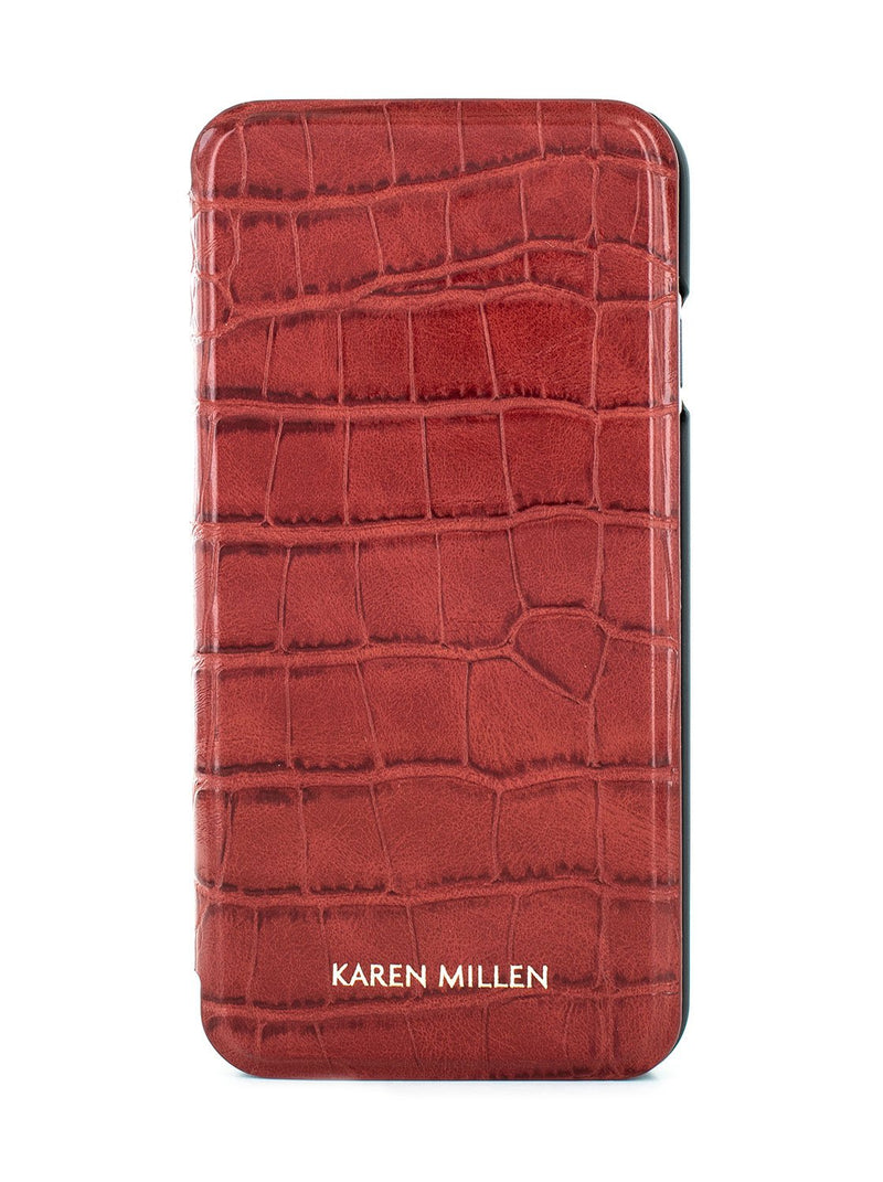 Hero image of the Karen Millen Apple iPhone 8 / 7 / 6S phone case in Red