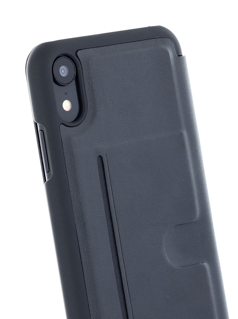 Back image of the Ted Baker Apple iPhone XR phone case in Black