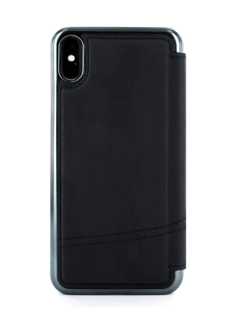 Back image of the Greenwich Apple iPhone XS Max phone case in Black