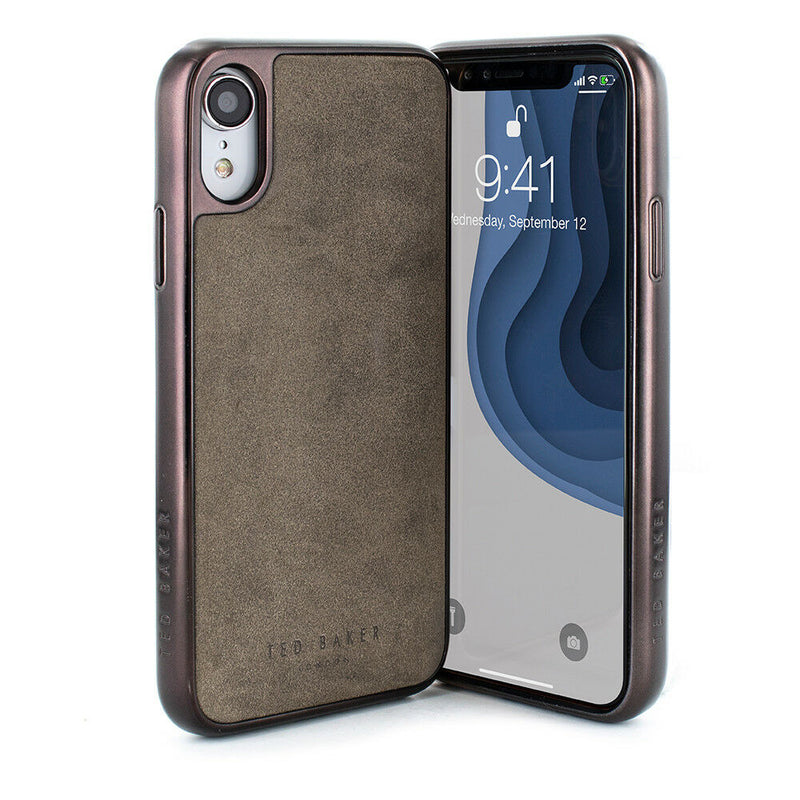 Ted Baker Connected Case for iPhone XR – JAKIE Grey