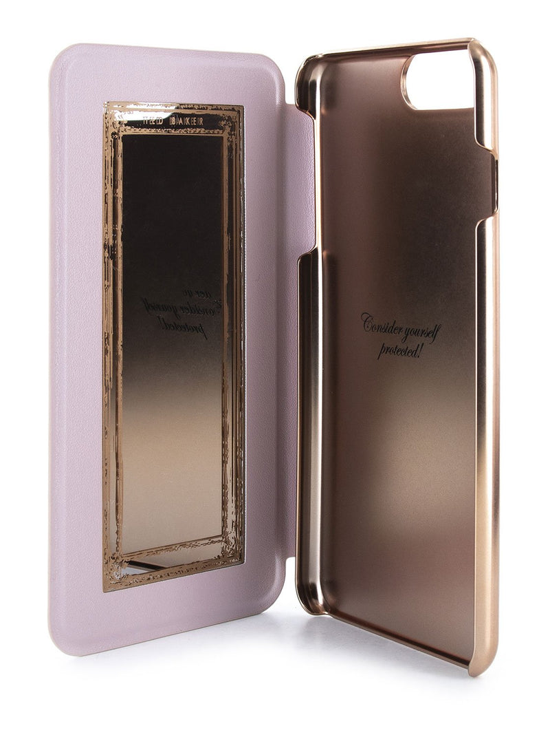Inside image of the Ted Baker Apple iPhone 8 Plus / 7 Plus phone case in Pink