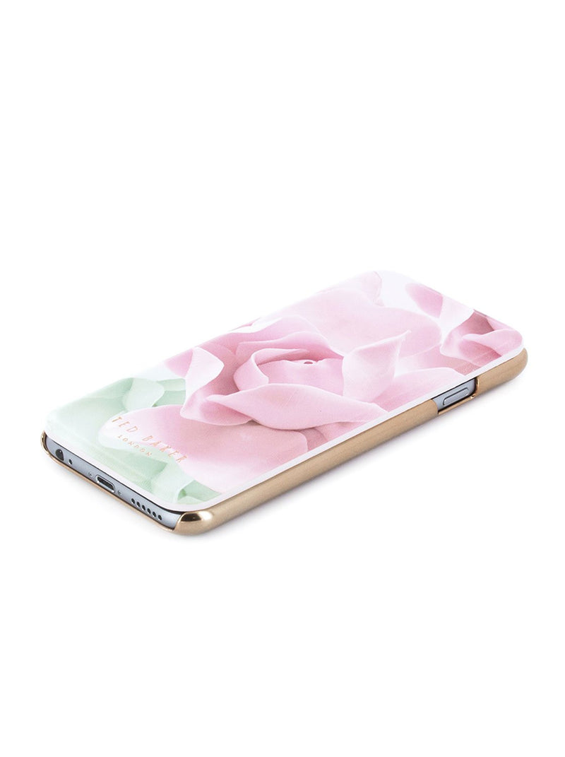 Face up image of the Ted Baker Apple iPhone 8 / 7 / 6S phone case in Nude