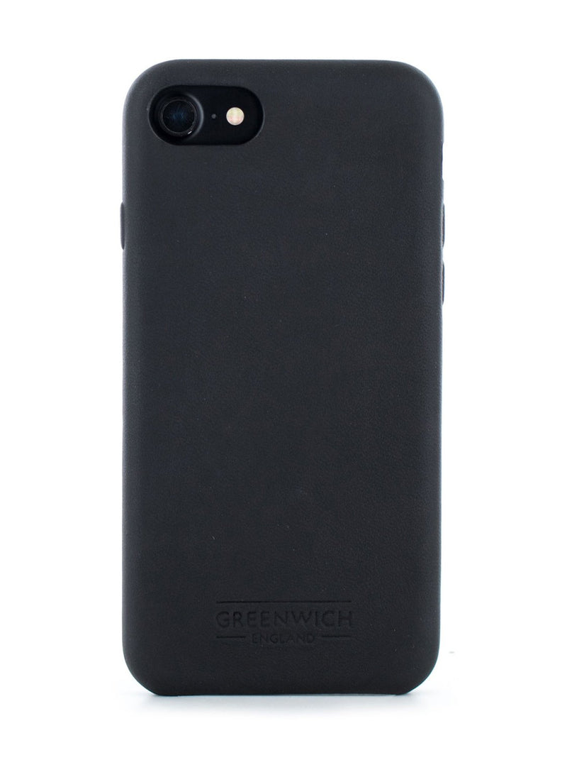 Hero image of the Greenwich Apple iPhone 8 / 7 / 6S phone case in Beluga Black