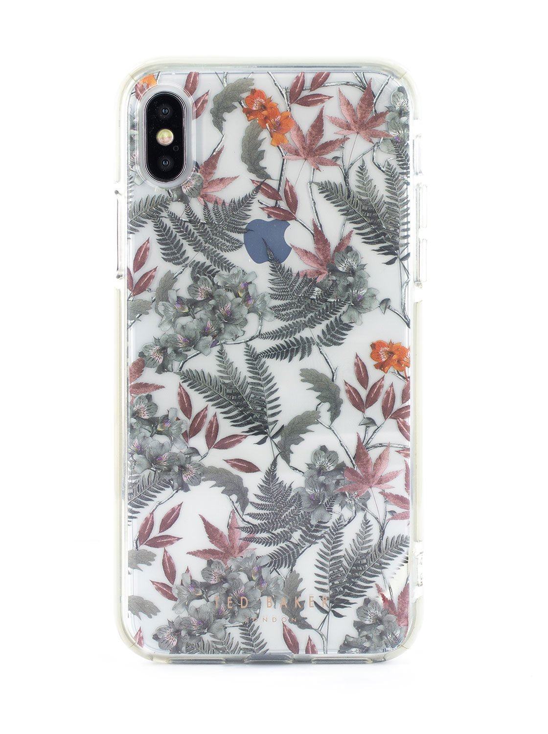 Ted Baker OLYMPIA Anti Shock Case for iPhone XS Max - Clear Back