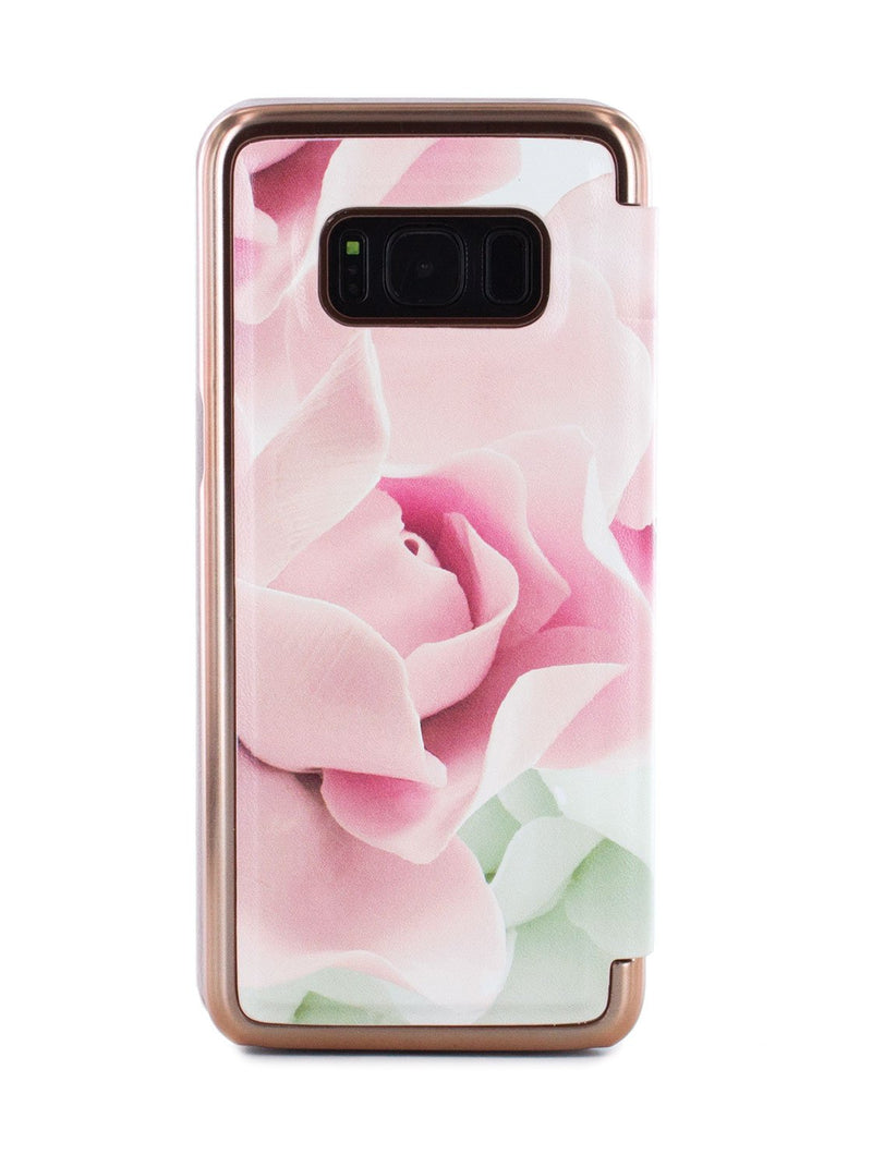 Back image of the Ted Baker Samsung Galaxy S8 phone case in Nude