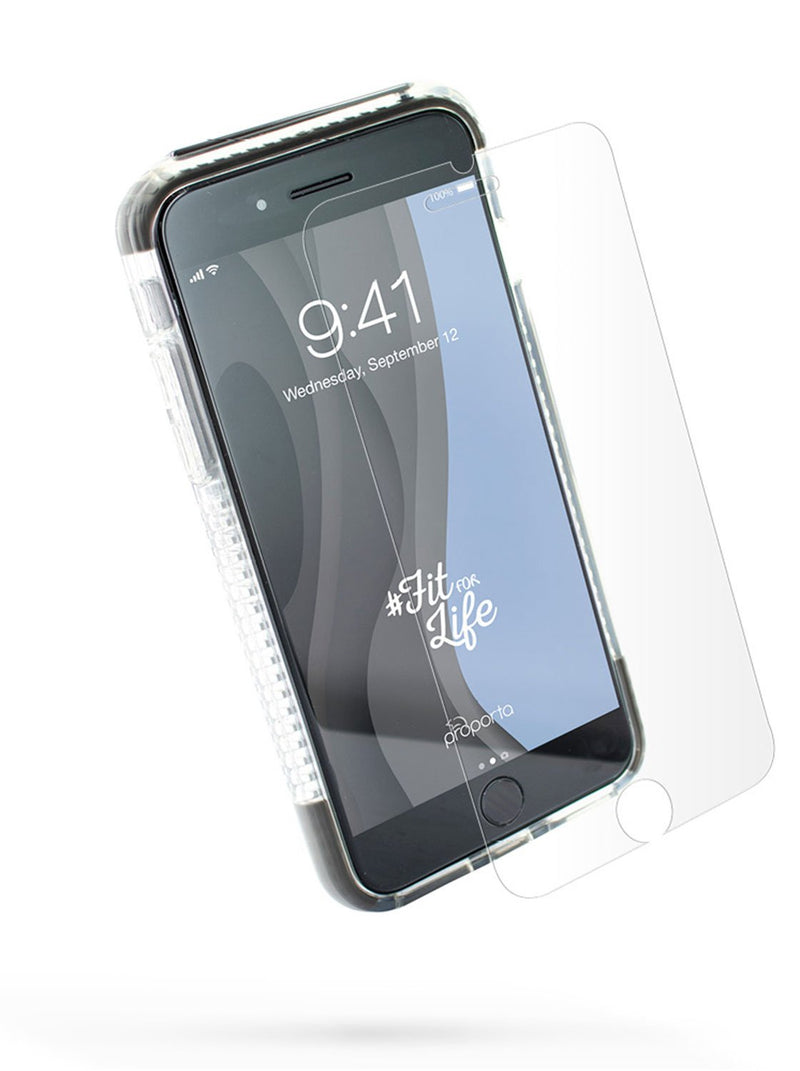 Front image of the Proporta Apple iPhone 8 / 7 / 6S phone case in Grey