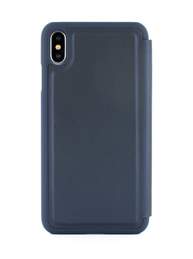 Back image of the Ted Baker Apple iPhone XS Max phone case in Navy Blue