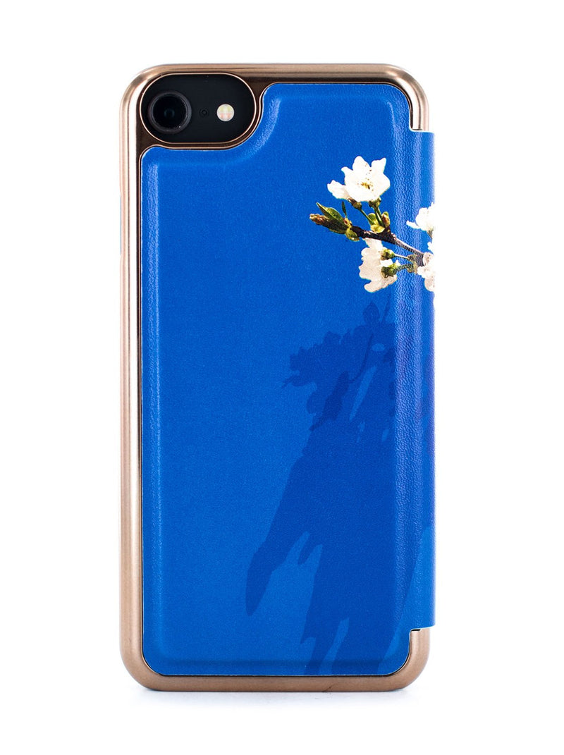 Back image of the Ted Baker Apple iPhone 8 / 7 / 6S phone case in Blue