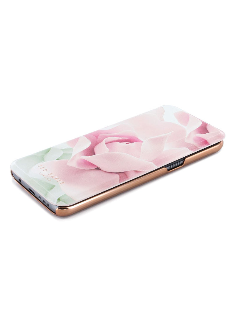 Face up image of the Ted Baker Samsung Galaxy S8 phone case in Nude