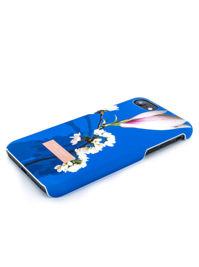 Face down image of the Ted Baker Apple iPhone 8 / 7 / 6S phone case in Blue