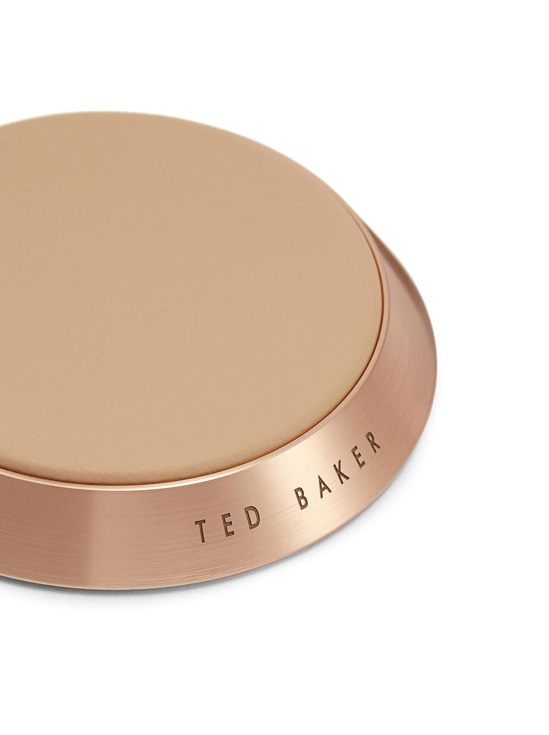 Detail image of the Ted Baker Universal power bank in Taupe