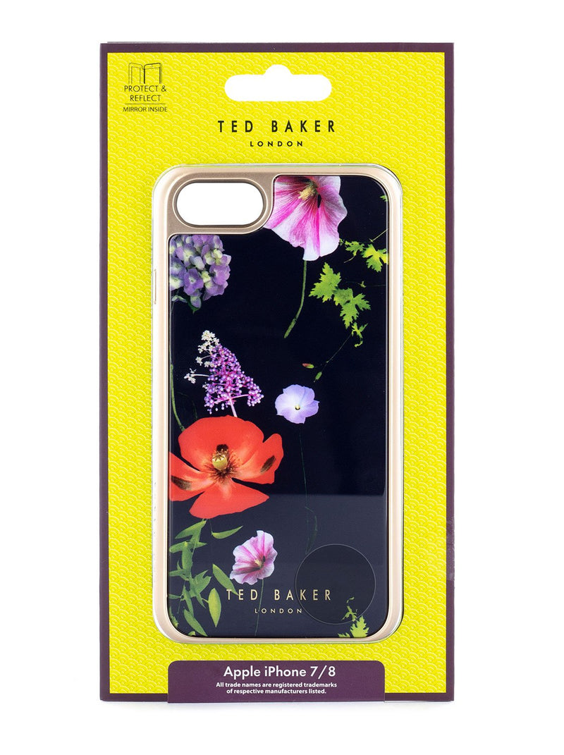 Packaging image of the Ted Baker Apple iPhone 8 / 7 / 6S phone case in Black