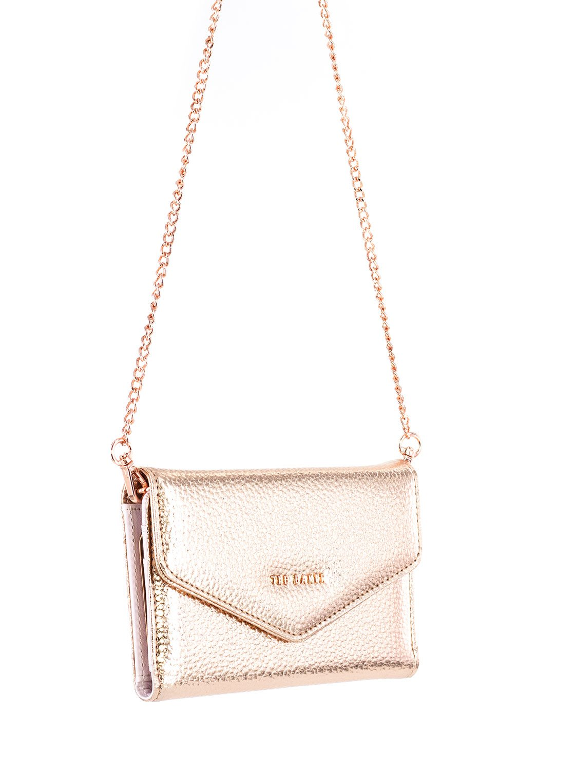 Arm chain image of the Ted Baker Apple iPhone 8 Plus / 7 Plus phone case in Rose Gold