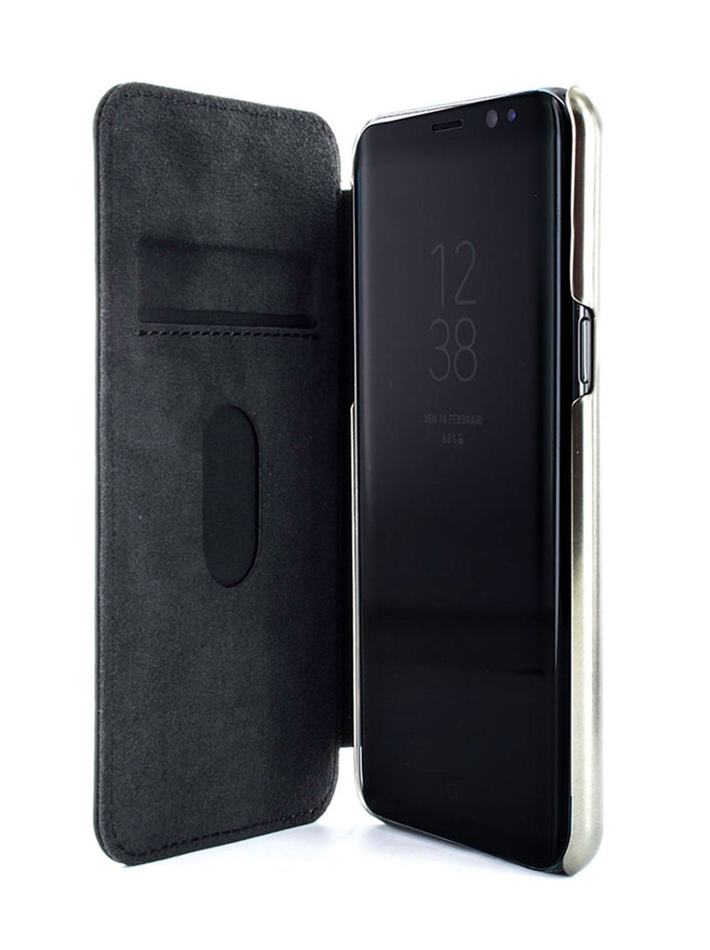 Inside image of the Greenwich Samsung Galaxy S9 phone case in Beluga Black