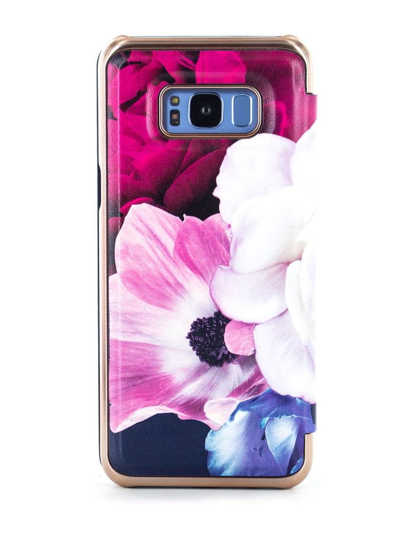 Back image of the Ted Baker Samsung Galaxy S8+ phone case in Black