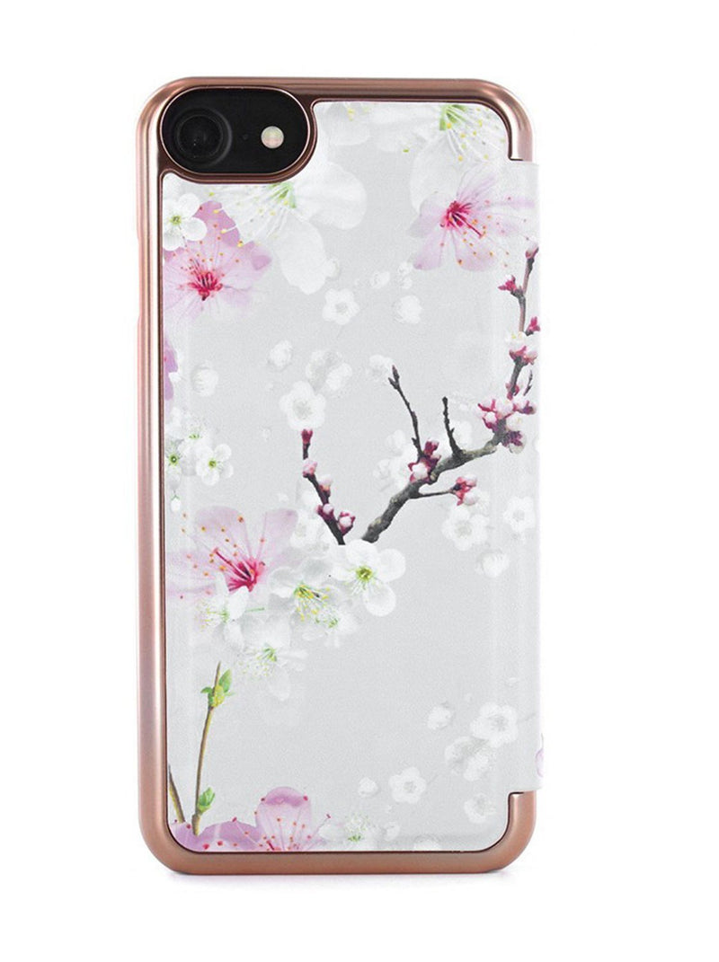 Back image of the Ted Baker Apple iPhone 8 / 7 / 6S phone case in White