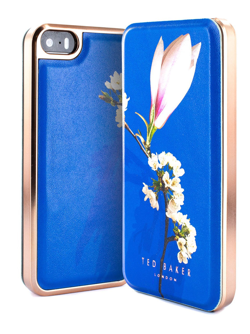 Inside image of the Ted Baker Apple iPhone SE / 5 phone case in Blue